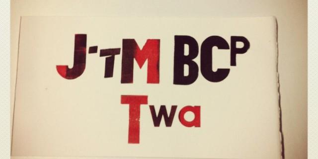 "Atelier d'impression typographique ""SMS Print"""