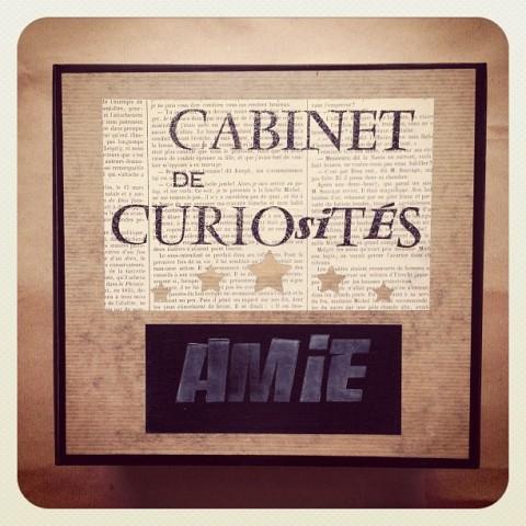 Cabinet de curiosité N&B