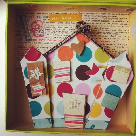 Intérieur Boîte à cadeau Anna Gavalda