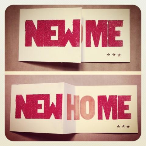 Nouvelle maison, nouveau moi