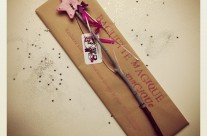 Baguette magique rose & perles
