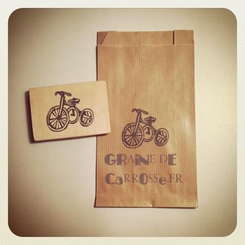 Tampon Tricycle Vintage+ Sachet