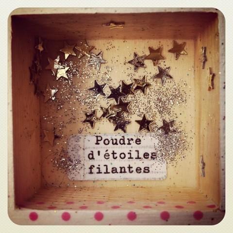 Cabinet de curiosités Poudre étoile filante