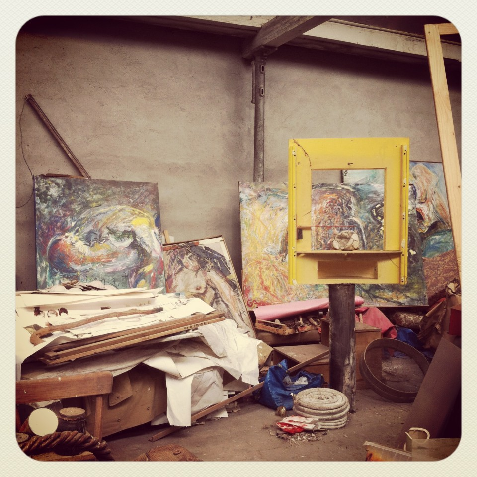 Visite atelier artiste GDC
