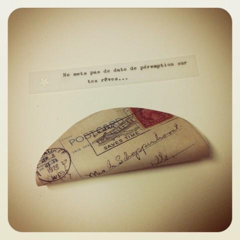 Paper Fortune Cookies Tuto