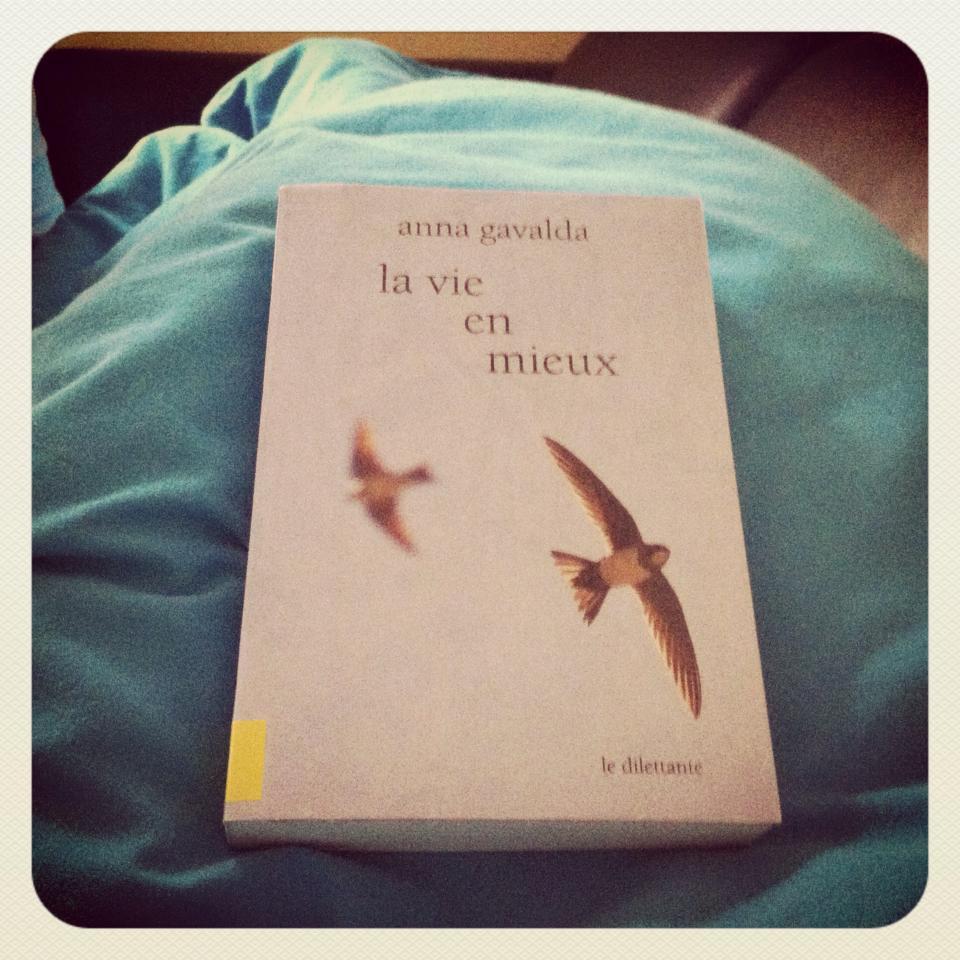 ouvrir un nouveau roman d'Anna Gavalda
