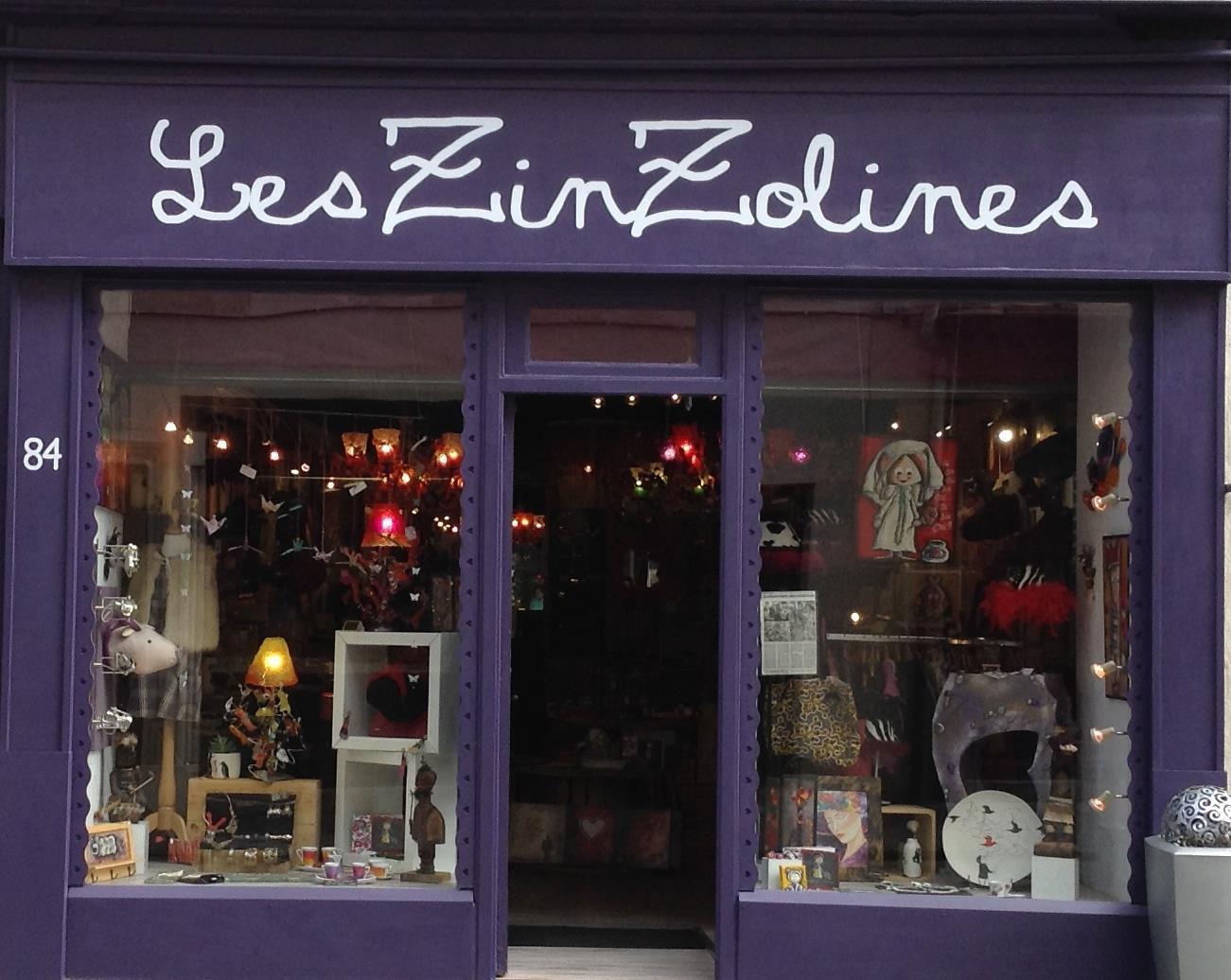 Les Zinzolines 84 grande rue à Nancy