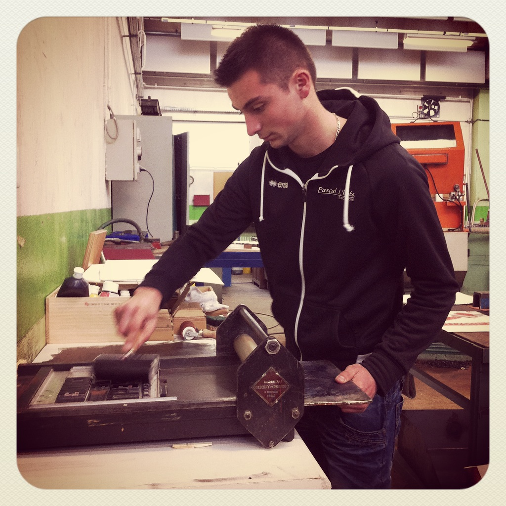 Atelier Typographie & Linogravure Graine de Carrosse