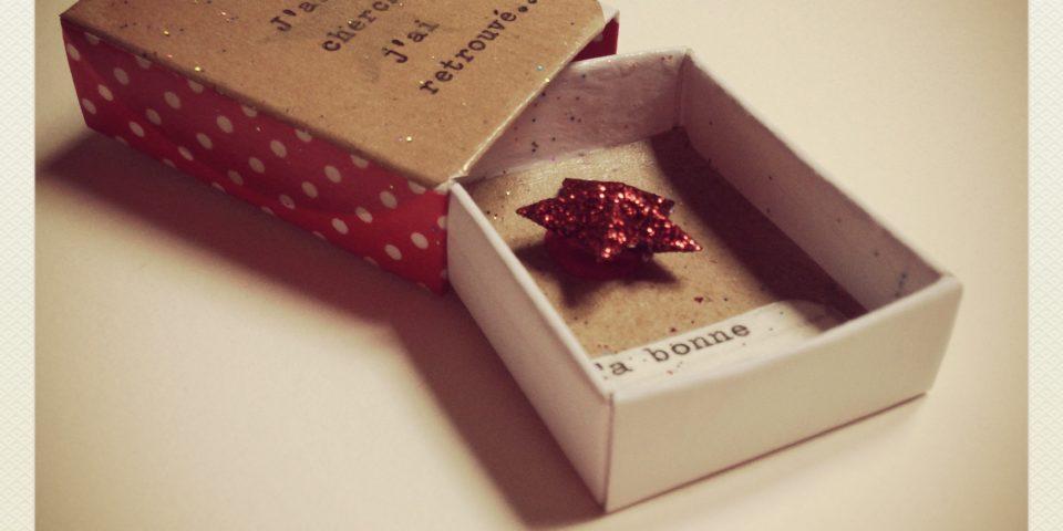 Les Mini-Boîtes à BONHEUR
