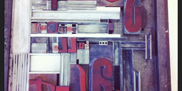 Atelier TYPO Le Fond & la Forme