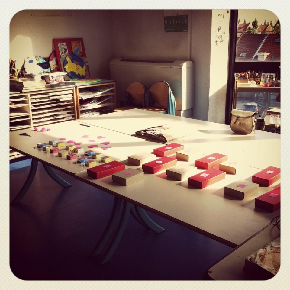 Atelier Fabrication de Boîtes à musique Graine de Carrosse
